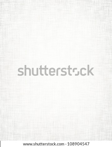 white fabric background with subtle canvas texture - stock photo