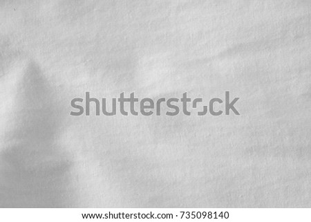 white fabric cloth background texture #735098140