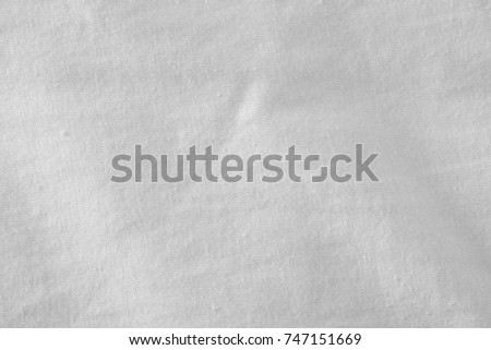 white fabric cloth background texture #747151669