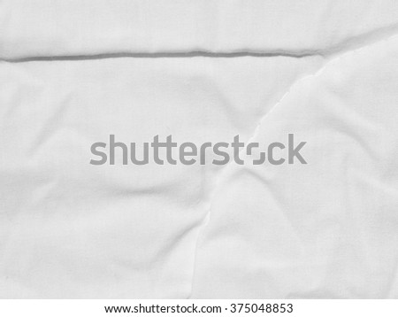 white fabric cloth bedsheet texture #375048853