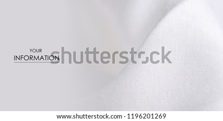White fabric clothing texture textile pattern blur background #1196201269