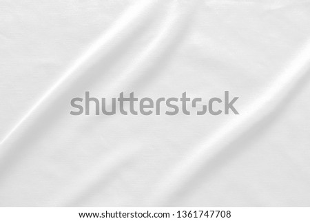 White fabric texture background.  #1361747708