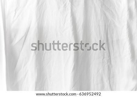 white fabric texture background with copy-space #636952492
