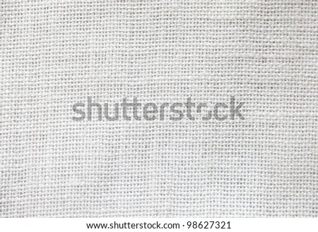 White fabric texture detail