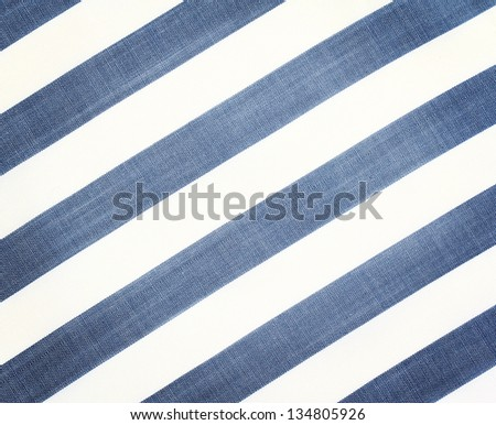 White  fabric texture with diagonal stripes. Close up