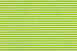 White fabric with green stripes
