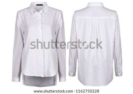 White female blouse #1162750228