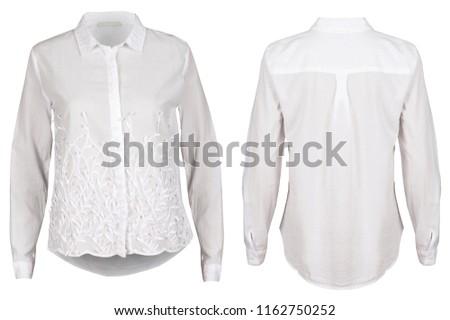 White female blouse #1162750252