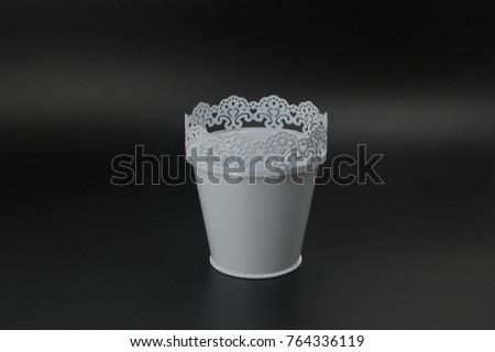 white festive tableware #764336119