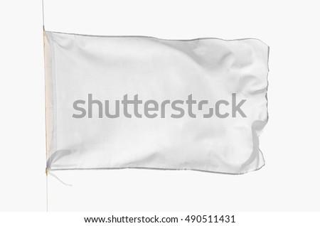 white flag #490511431