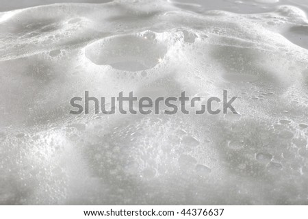 white foam surface