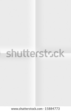 White folded paper background