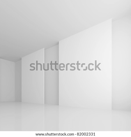 White Gallery Room