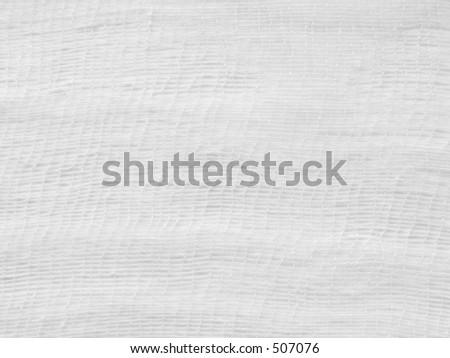 white gauze background