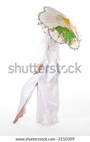 White Geisha Model