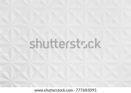White geometric rhombus pattern as background #777683095