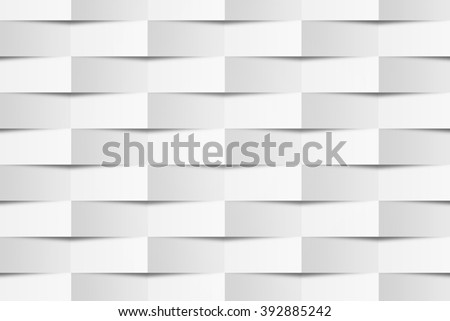 White Geometric Texture #392885242