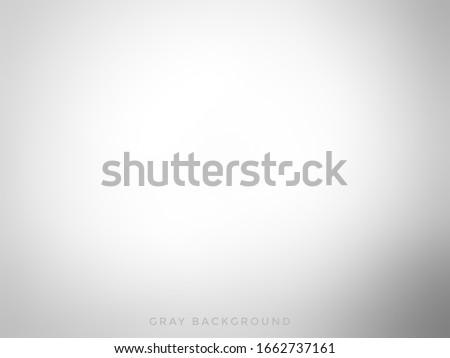 White gradient background. White background. Gray gradient. Gradient background. Background
