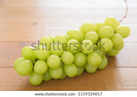 "White grapes ""Shine Muscat"" #1159324057"