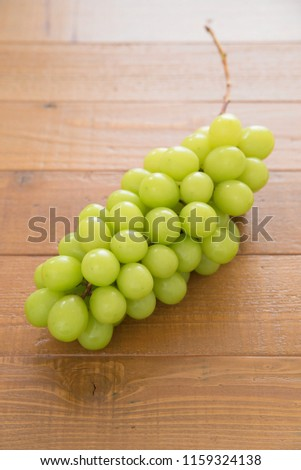 "White grapes ""Shine Muscat"" #1159324138"