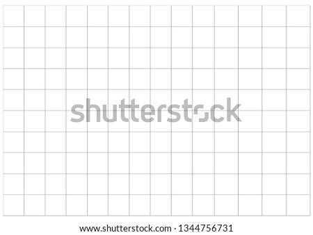 white graph paper square grid