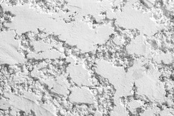 White grey concrete wall with rough embossed seamless patterns for background