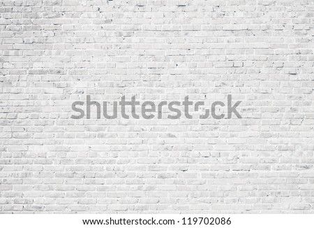 Shutterstock White grunge brick wall background