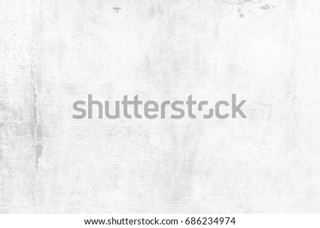 White Grunge Concrete Wall Background. #686234974