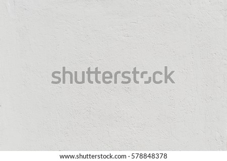 White grunge concrete wall texture background create from plaster cement material in retro pattern for architectural decoration. Retro and vintage background concept.