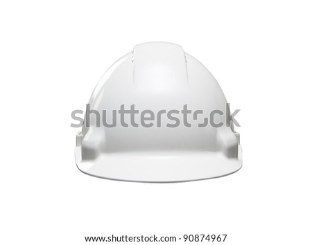 White Hat isolated on white