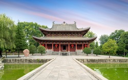 White Horse Temple is the first government-run temple built after Buddhism was introduced to China, Luoyang, China.Translation: