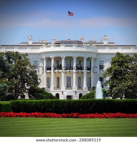 White House in Washington, DC.