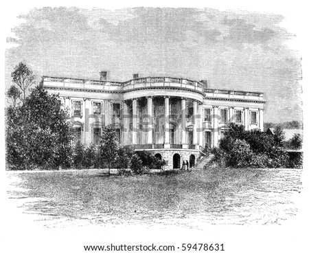 white house in washington....