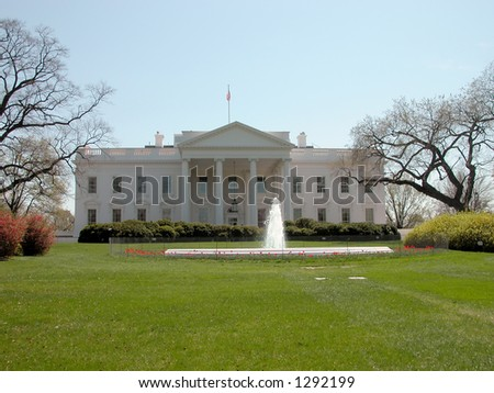 White House located in Washington D.C.