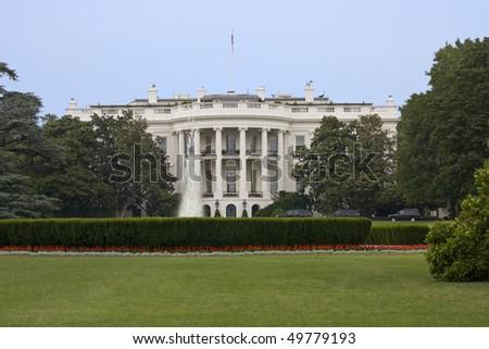 White House, Washington DC - stock photo