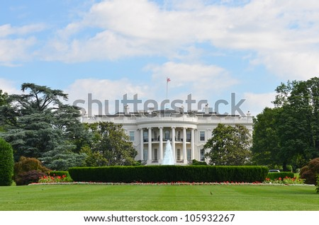 White House - Washington DC United States