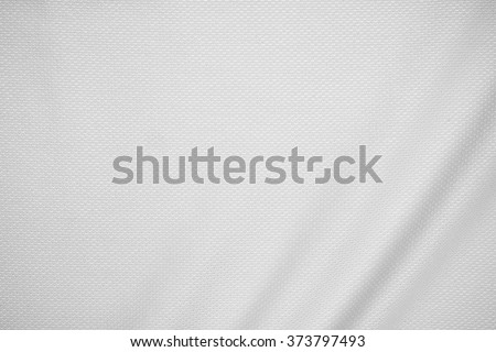 White jersey fabric texture background. #373797493