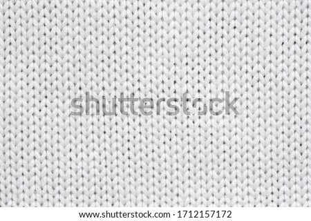 White knitted texture and background. Photo stock ©