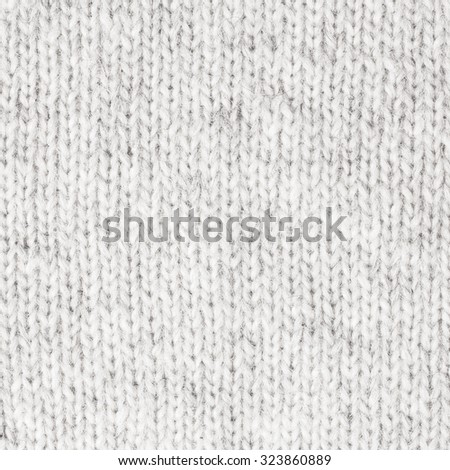 White Knitted Wool Background./White Knitted Wool Background.