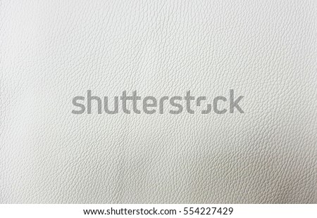 White Leather Background and Texture