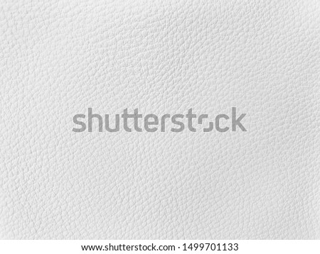 White leather texture for luxury classic background