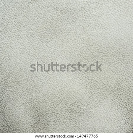 White leather texture fragment as a background texture