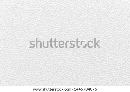 White leather texture used as background