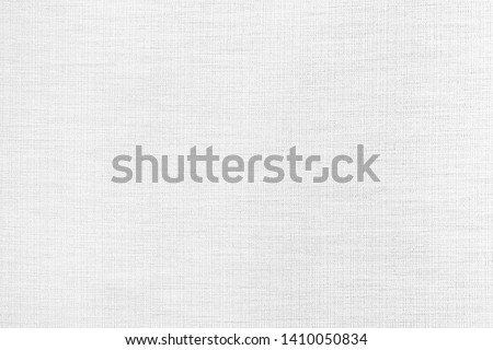 White linen fabric texture or background.