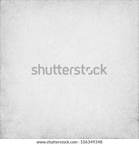 white linen with delicate grid to use as grunge background or texture - stock photo