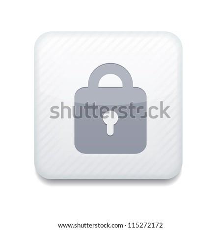 white lock icon.