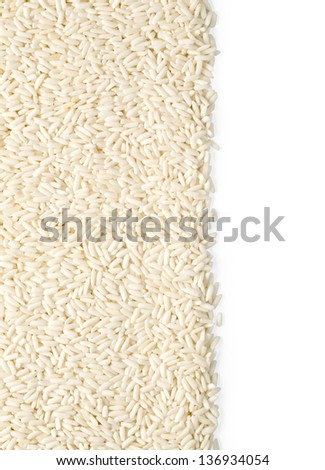 white long rice background for your design