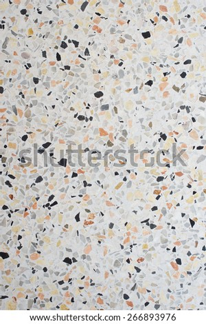 white marble and small rock texture background