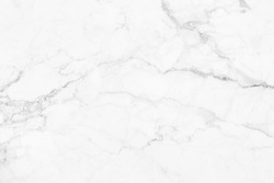 White marble pattern texture for background.