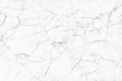 White marble seamless texture with high resolution for background and design interior or exterior, counter top view.